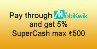 Mobikwik 5% discount