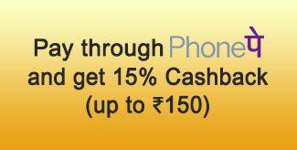PhonePe 15% discount